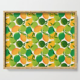 Lemons and Limes Serving Tray