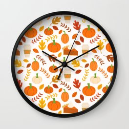 Everything Autumn Wall Clock