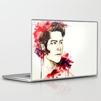 stiles stilinski Laptop & iPad Skins featuring Stiles Stilinski  by Sterekism