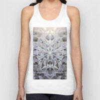 snowflake Tank Tops featuring Snowflake by Kristin Edoy Design