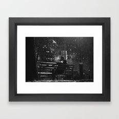 The Smoker Framed Art Print