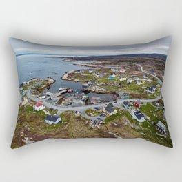 Winding Through The Cove Rectangular Pillow