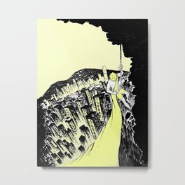 """""""i want universal suffrage"""" - 我要真普選 Metal Print"""