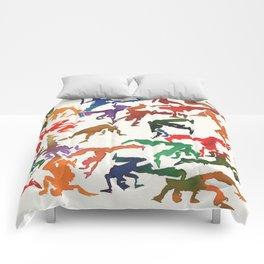 Capoeira 235 Comforters