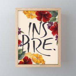 Inspire Framed Mini Art Print