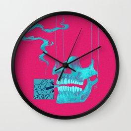 First time Smoker Wall Clock