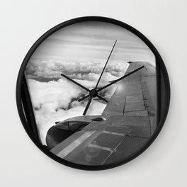 Plane Wall Clock