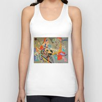kandinsky Tank Tops featuring Kandinsky Composition Study by Andrew Sherman