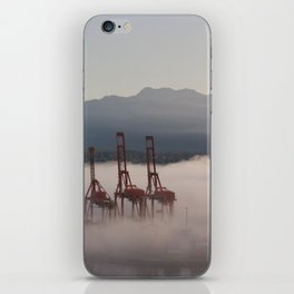 Burrard Inlet Fog iPhone Skin