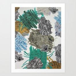 Carbonation Collection: beach Art Print