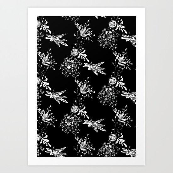 Lace 4 Art Print
