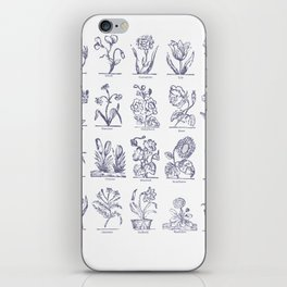 Flowers in history iPhone Skin