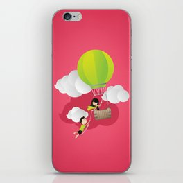 for the adventure of love iPhone Skin