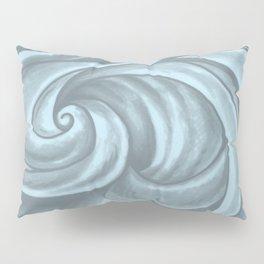 Swirl (Gray Blue) Pillow Sham