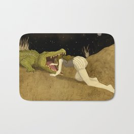 In The Mouth Of Madness Bath Mat
