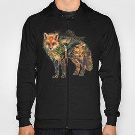 The Fox Nature Surrealism Hoody
