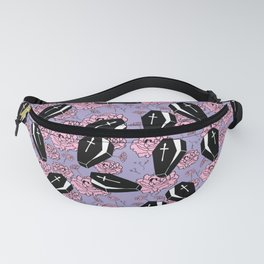 Coffins and Flowers Fanny Pack
