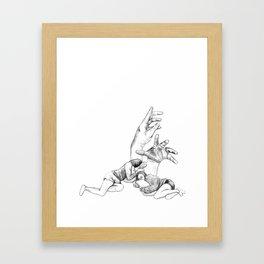 Restless Dreams Framed Art Print
