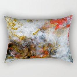 Fireside - Original Abstract Art by Vinn Wong Rectangular Pillow