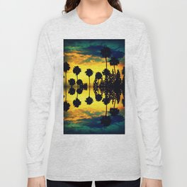 California sunset i Long Sleeve T-shirt