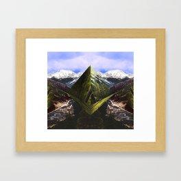 ASPEN DIAMONDS Framed Art Print