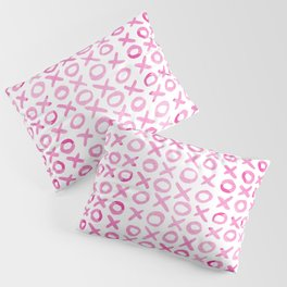 Xoxo valentine's day - pink Pillow Sham