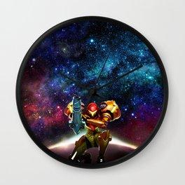 Metroid Samus Returns Wall Clock