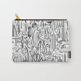 Medical Condition B&W Carry-All Pouch
