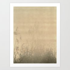 Sunbury Field Polaroid Art Print