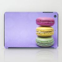 macaron iPad Cases featuring Macaron Series - Purple by Zayda Barros