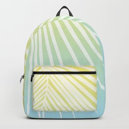 Pastel Palm 03 Backpack