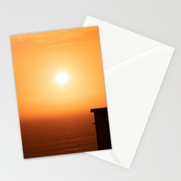 Sunset in Lima Stationery Cards
