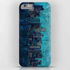 boston city skyline Slim Case iPhone 6 Plus