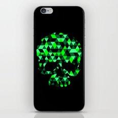 Triangle Camouflage Skull (BLACK) iPhone & iPod Skin