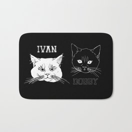 Ivan and Dobby Collegiate Inverse Bath Mat