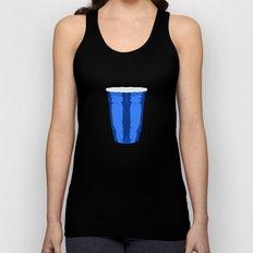 CLARITY CUP BLUE (BIG) Unisex Tank Top