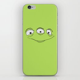 Alien Face iPhone Skin