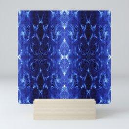Ikat Shibori Blues Mini Art Print