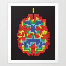 Brain Game Art Print