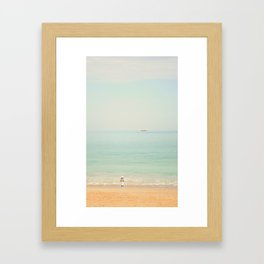 Dreaming with Pirates Framed Art Print