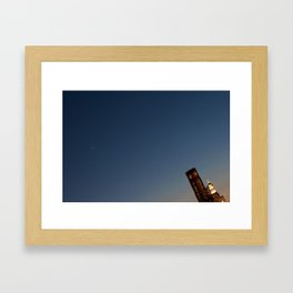 Slanted Framed Art Print