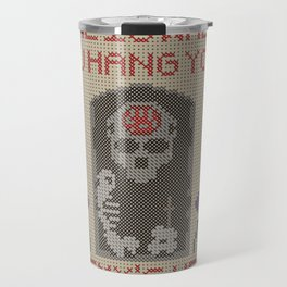 Home Is Where You Hang Your Enemy's Head Travel Mug
