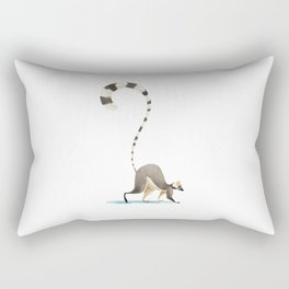 Lemur Rectangular Pillow