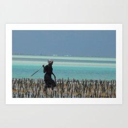 Bahari  Art Print