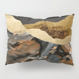 Copper and Gold Mountains Pillow Sham