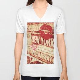 Lovin' New York Unisex V-Neck