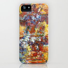 The Japanese Bridge, 1922 - Claude Monet iPhone Case