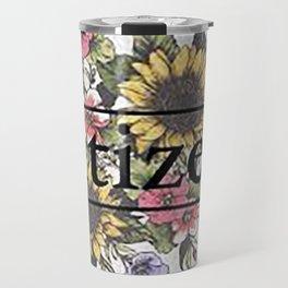 Citizen Floral Art Travel Mug