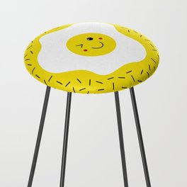 Eggs emoji Counter Stool