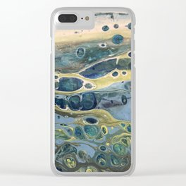Beach of a Pebble Dream Clear iPhone Case